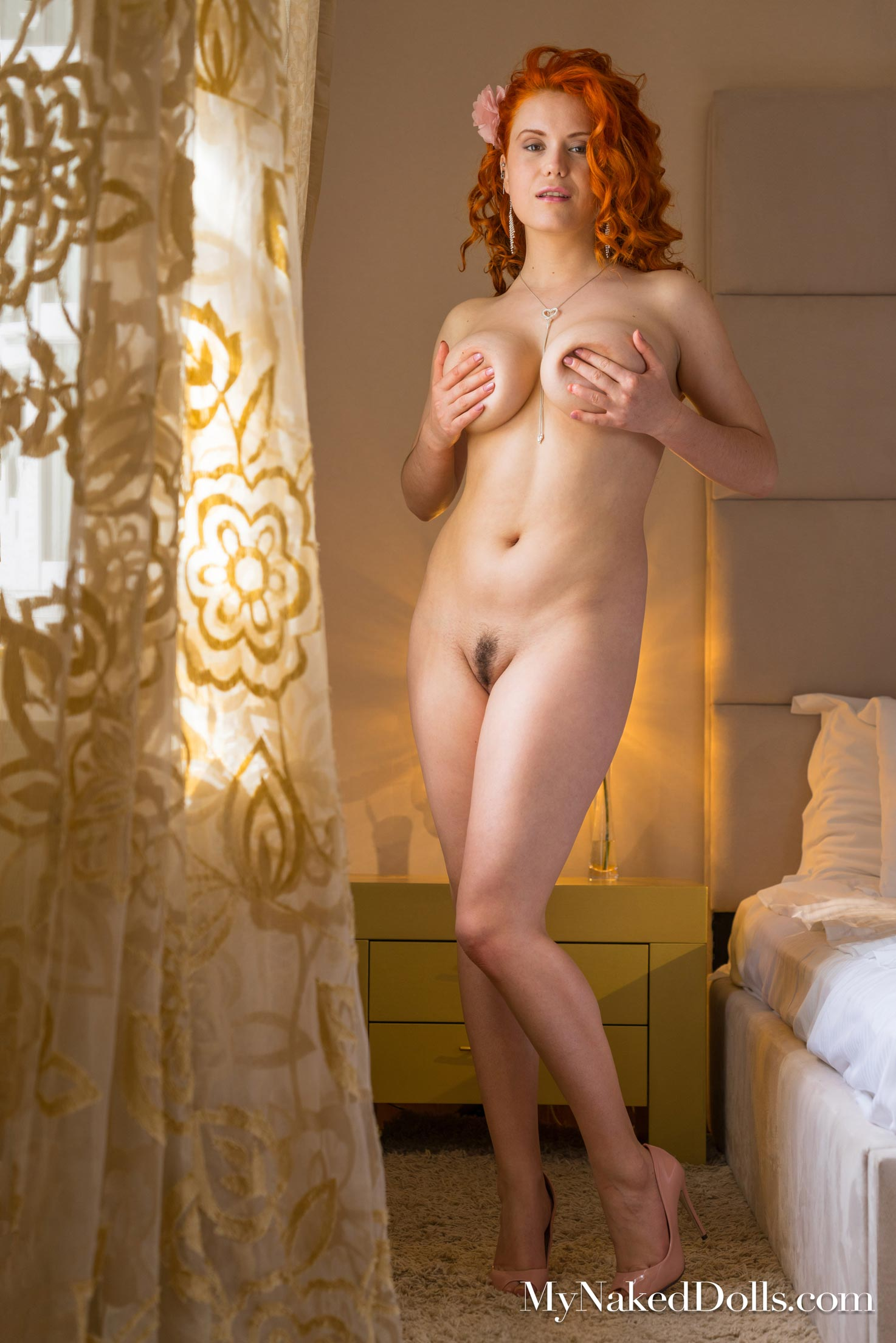 Lillith Von Titz Curvy Natural Ginger