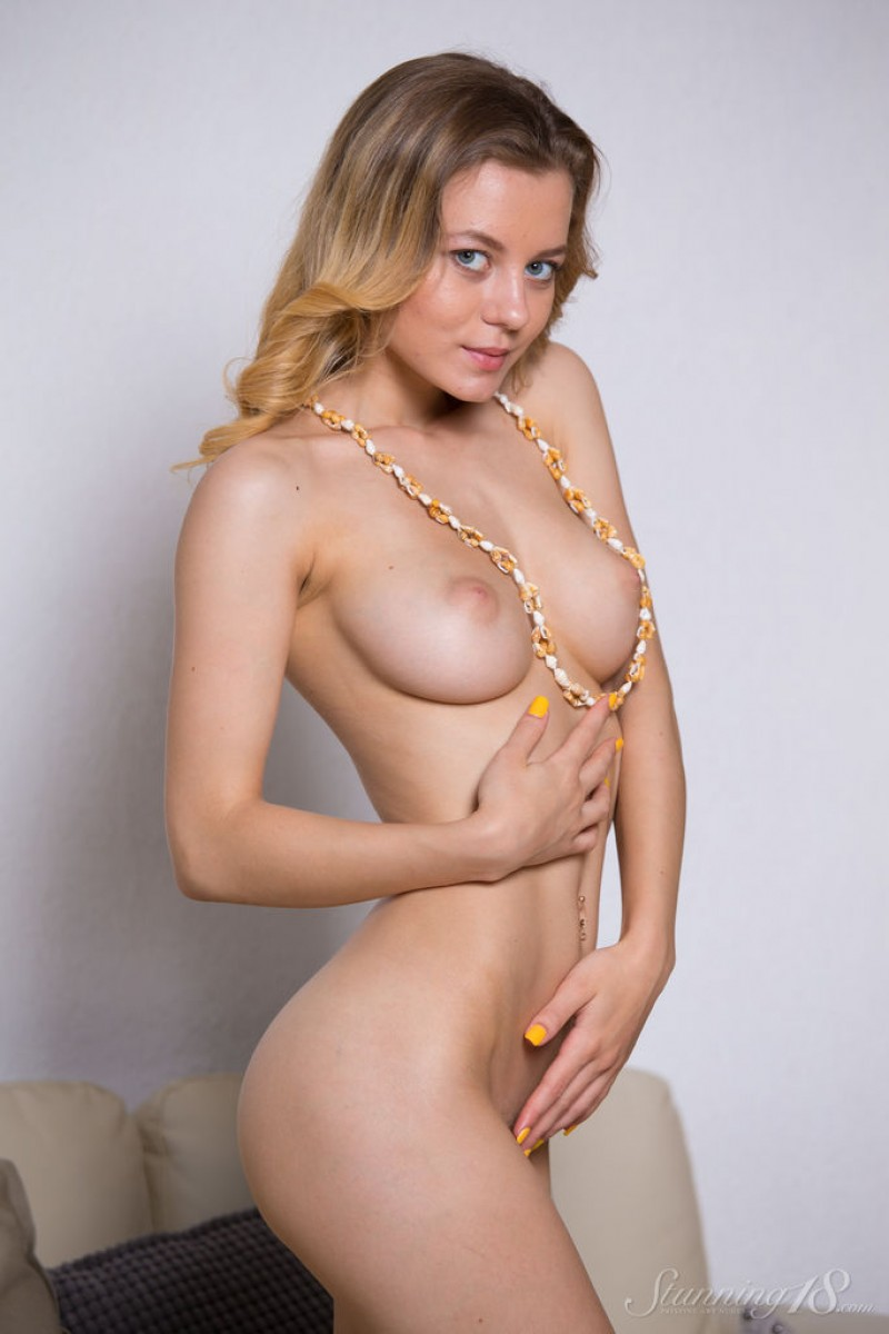Busty Goddess Agnes Exposed