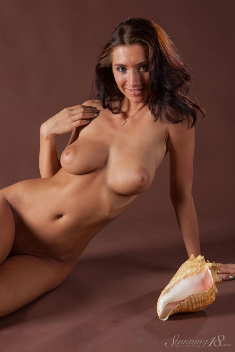 Busty Tight Bodied Nude Model