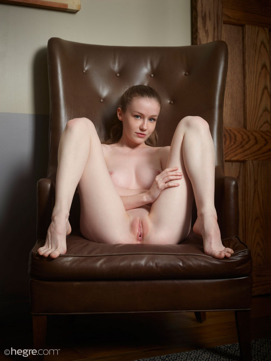 Emily Bloom Leather Chair