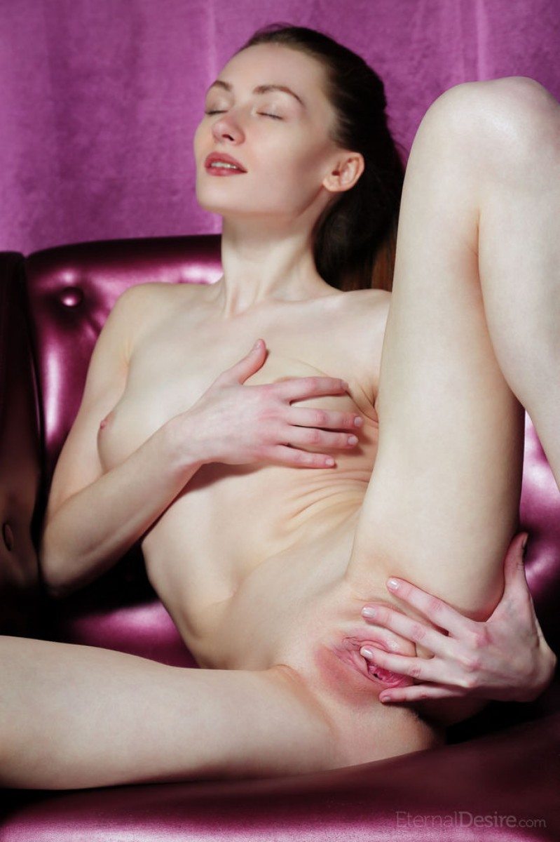 Keela C Shows Pink Pussy