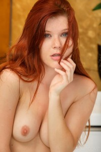 Mia Sollis in a Jacuzzi