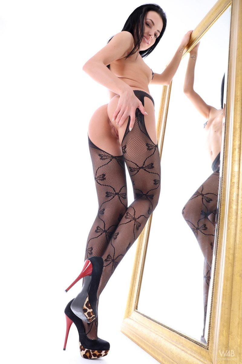 Sapphira A Spreads in Fishnets