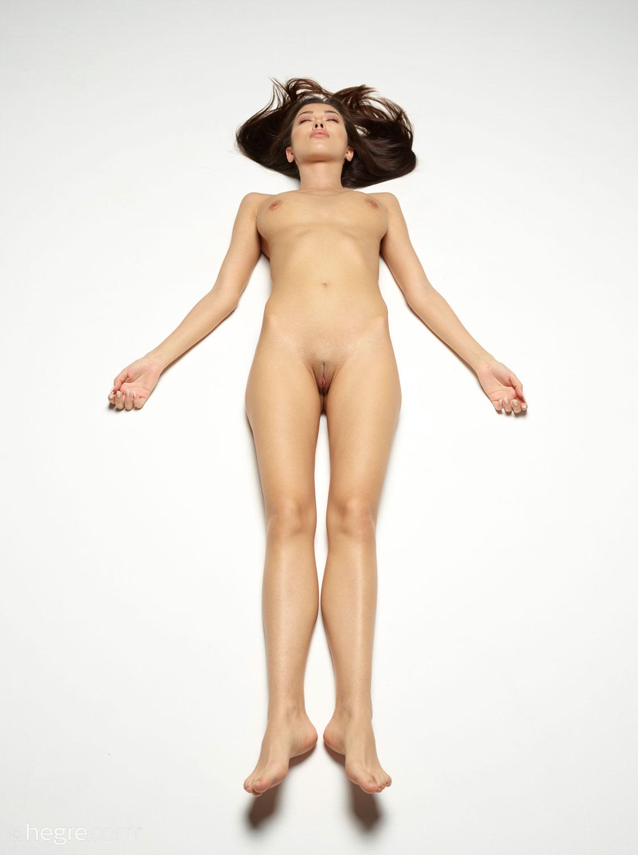 Nicolette Leggy Model in a Bodysuit